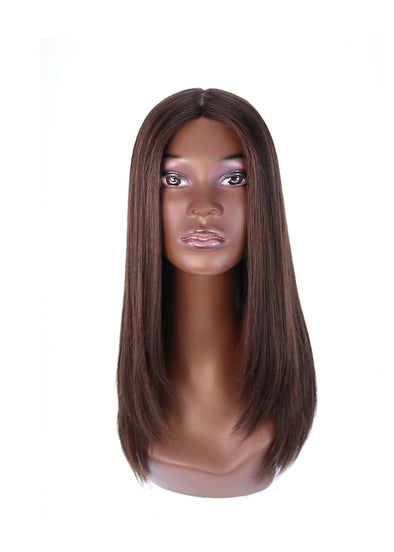"22"" Ponytail Dark Brown Wig"