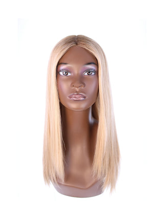 "22"" Ponytail Golden Blonde Wig"