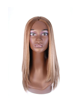 "22"" Ponytail Light Brown Babylight Wig"