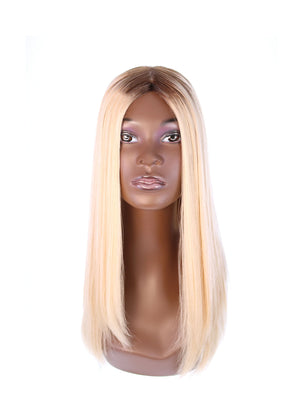 "22"" Ponytail Platinum Blonde Wig"