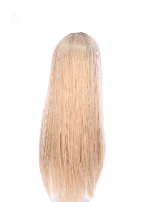 "26"" Ponytail Golden Blonde Wig"
