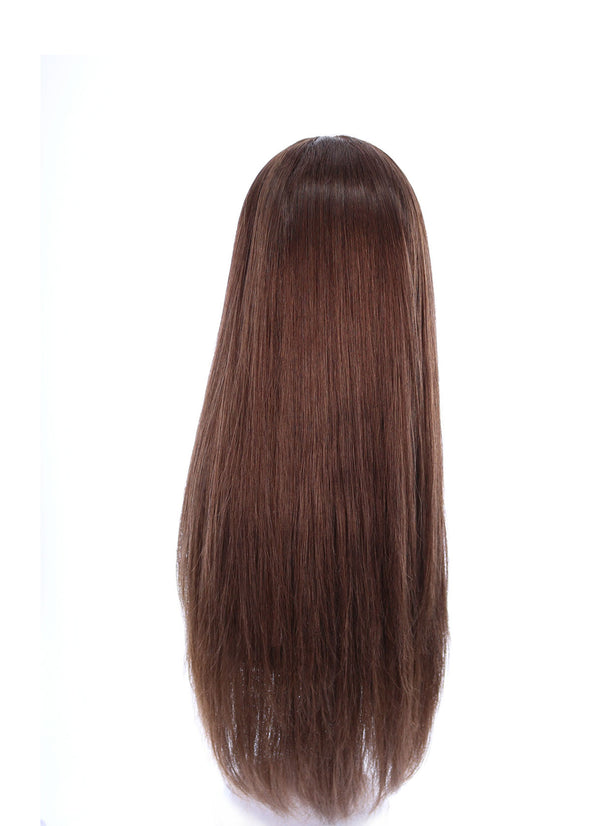 "26"" Ponytail Medium Brown Wig"