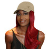 "Splash 18"" 6pc Synthetic Hair Extension + FREE Baseball Hat"
