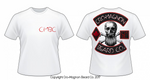 CMBC Logo/Skull Cotton T-Shirt