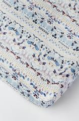 Loulou Lollipop - Crib Sheet - Fair Isle - Growing Co. Kids Eco Store