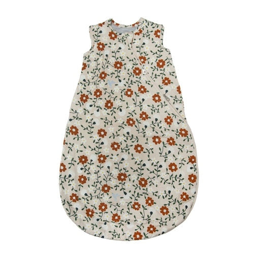 Loulou Lollipop - Sleeping Bag - 2.5 TOG - Flower Vine - Growing Co. Kids Eco Store