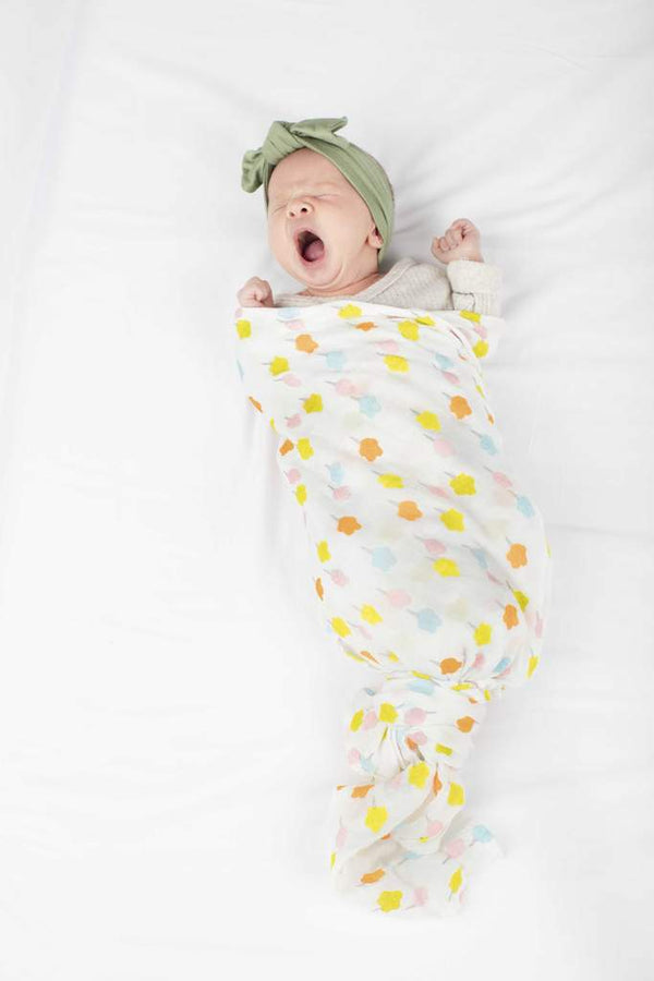 Loulou Lollipop - Swaddle - Candy Floss - Swaddle - Growing Co. Kids Eco Store