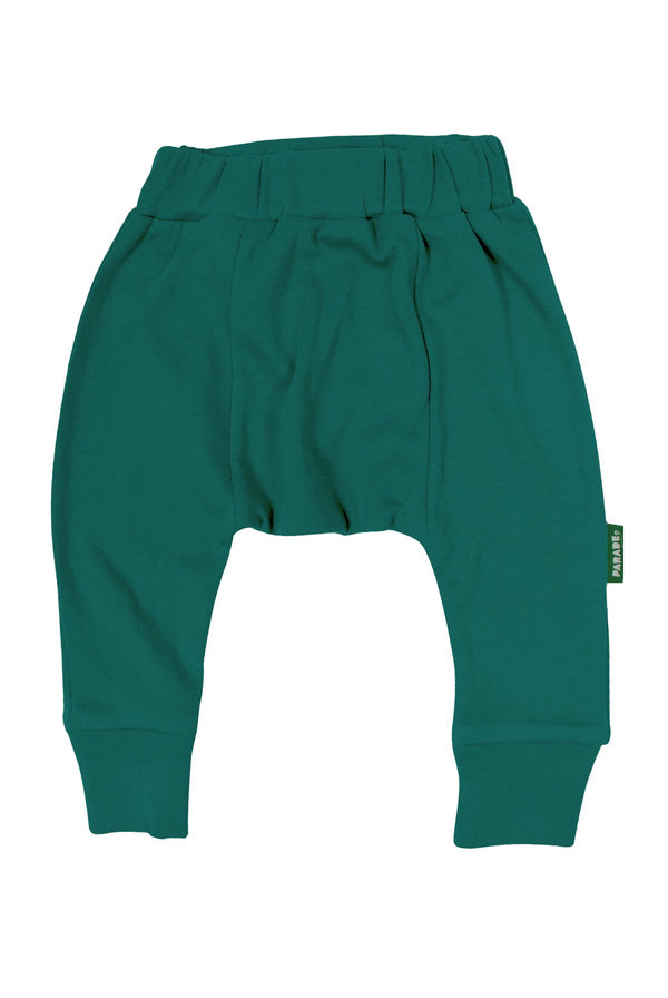 Parade Organics - Harem Pants - Ocean Teal - Harem Pants - Growing Co. Kids Eco Store