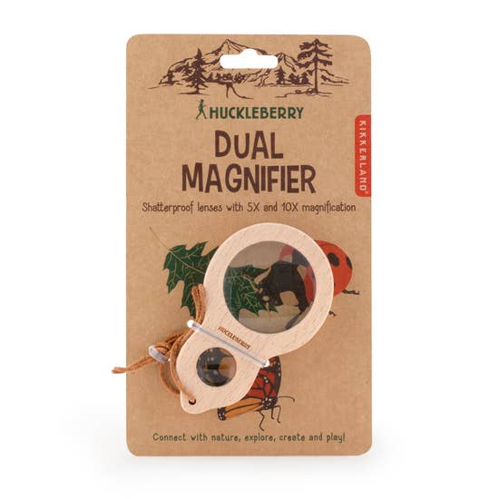 Huckleberry - Dual Magnifier - Toy - Growing Co. Kids Eco Store