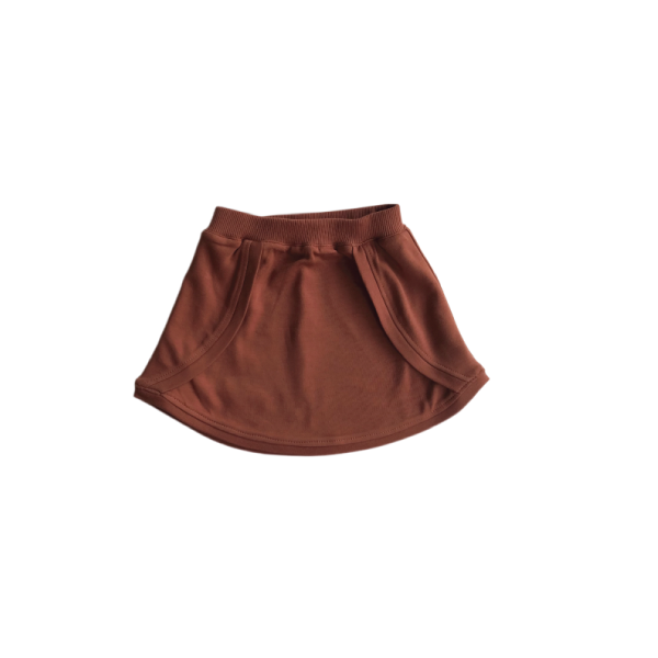 Tulip Skirt - Rust - Growing Co. Kids Eco Store