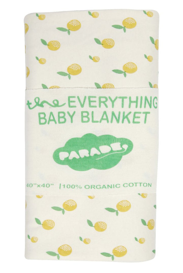 Parade Organics - Everything Blanket (Citrus) - Blanket - Growing Co. Kids Eco Store