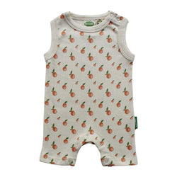 Parade Organics - Tank Romper - Citrus - Growing Co. Kids Eco Store