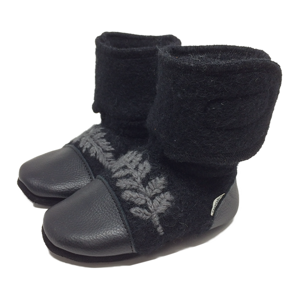 Nooks - Wool Booties - Starling - Bootie - Growing Co. Kids Eco Store