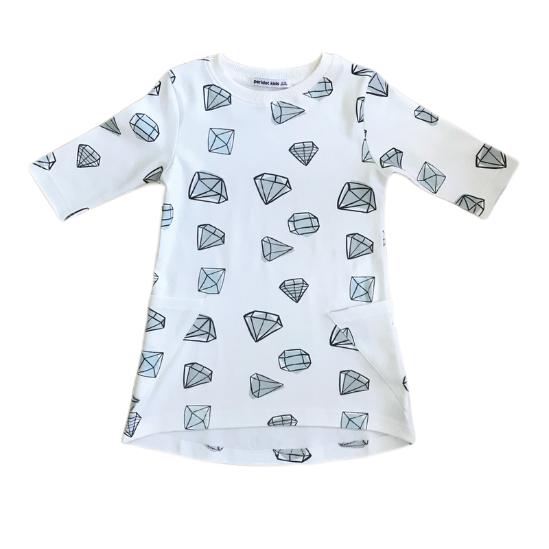 Tunic Dress - Gems - Growing Co. Kids Eco Store