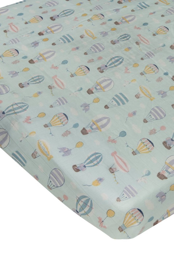 Loulou Lollipop - Crib Sheet (Up Up Away)