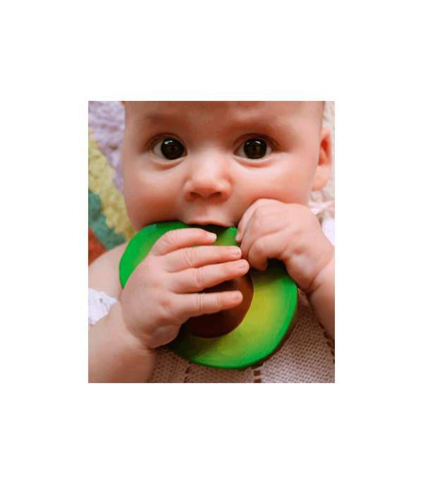 Oli & Carol - Teether - Arnold the Avocado - Teether - Growing Co. Kids Eco Store