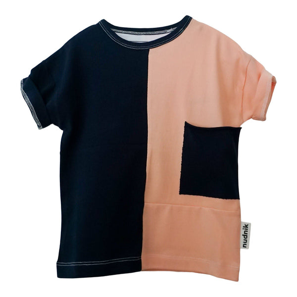 DISRUPTOR TEE | Prosciutto + Eggplant - Growing Co. Kids Eco Store