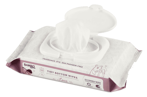 Bambo Nature - Tidy Bottom Wipes - Baby Wipes - Growing Co. Kids Eco Store