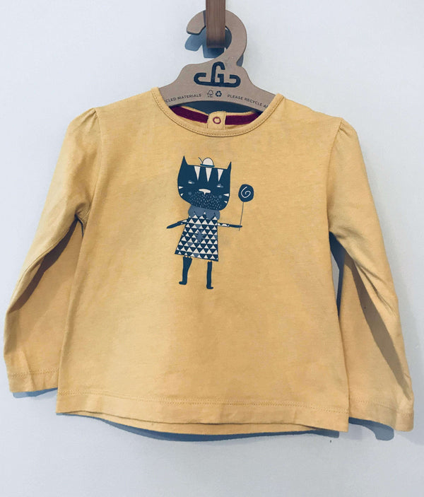 Mamas & Papas Top - Long Sleeved Top - Growing Co. Kids