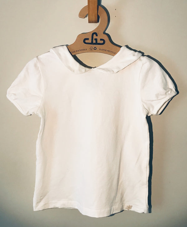 Zara Babygirl - White Collared Shirt - (Child)