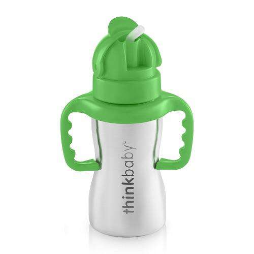 Think Baby - Thinkster (Green) - Stainless Steel Sippy Cup