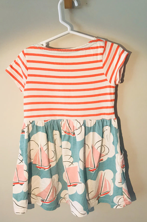 Mini Boden - Boat Dress - (Toddler) - Dress - Growing Co. Kids