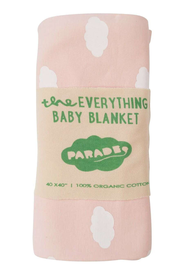 Parade Organics - Everything Blanket (Pink Clouds) - Swaddle - Growing Co. Kids Eco Store