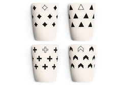 Young Lux - Scandinavian Series - Cups set of 4 -  - Growing Co. Kids Eco Store