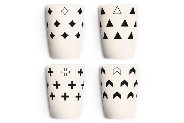Young Lux - Scandinavian Series - Cups set of 4 -  - Growing Co. Kids