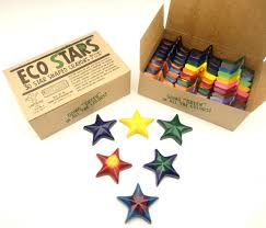 Crazy Crayons (Eco Stars) 30 pack -  - Growing Co. Kids Eco Store