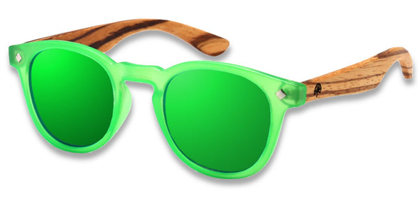 Wildwood Eyewear - Kids Cat Eye (3-9 Years) - Green - Sunglasses - Growing Co. Kids Eco Store