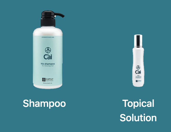 Capily Home Care System for Male Thinning Hair