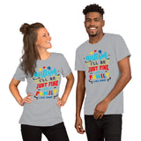 Autism family like mine Short-Sleeve Unisex T-Shirt