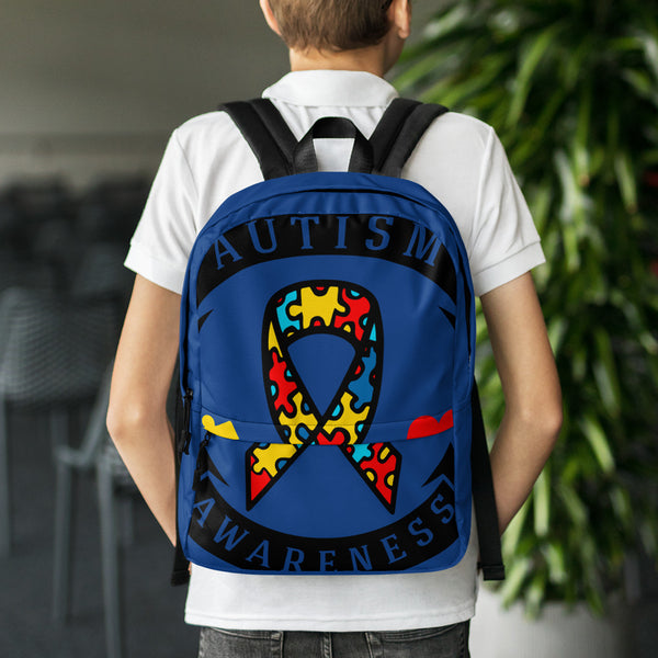 Autism Awareness Backpack