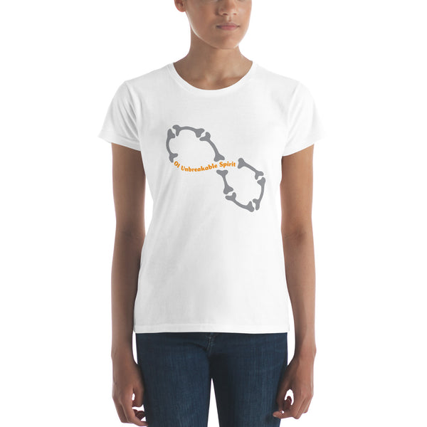 Bone Awareness Women's short sleeve t-shirt