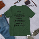 coworkers Short-Sleeve Unisex T-Shirt