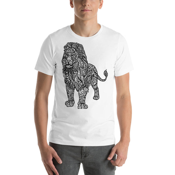 Color Me Alpha Lion Short-Sleeve Unisex T-Shirt