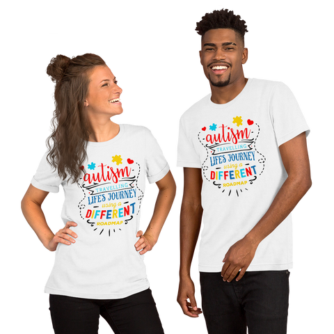 Autism Journey Short-Sleeve Unisex T-Shirt