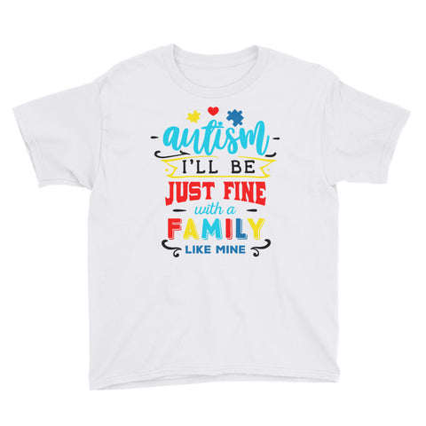 autism Youth Short Sleeve T-Shirt