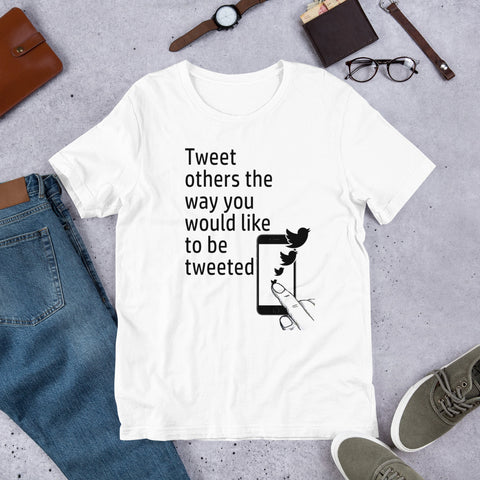 Tweet others Short-Sleeve Unisex T-Shirt