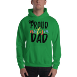 Proud AutismDad Hooded Sweatshirt