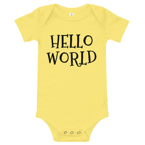 Hello world body suite T-Shirt
