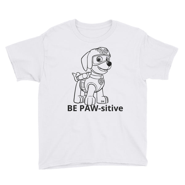 Color ME Paw Patrol Youth Short Sleeve T-Shirt