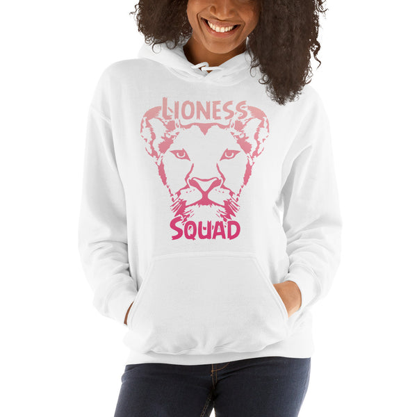 Pink Lioness squad Hooded Sweatshirt