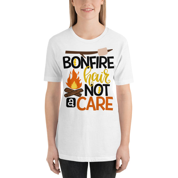 bonfire hair Short-Sleeve Unisex T-Shirt