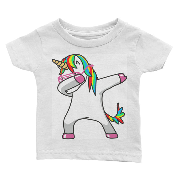 unicorn dabbing Infant Tee