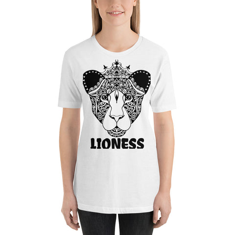 Color Me Lioness Short-Sleeve Unisex T-Shirt