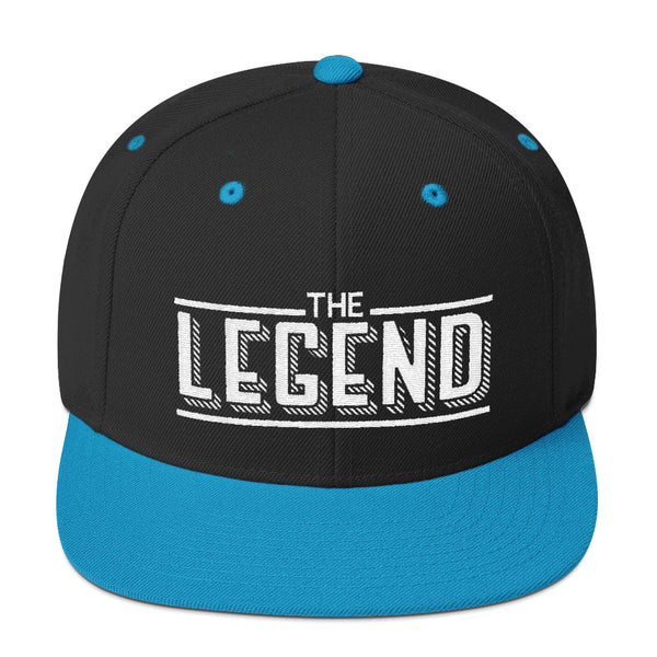 The white trace legend Snapback Hat