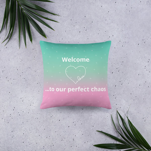 Perfect Chaos Pillow
