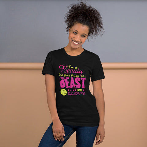 Beast in my cleats Short-Sleeve Unisex T-Shirt